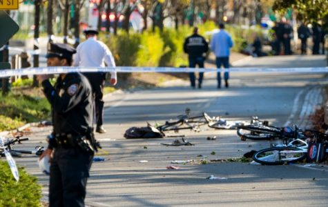 Manhattan truck kills eight and injures 13 in deadly act of terror