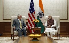 Tillerson cozies up to India and emphasizes necessary cooperation, while berating China and Pakistan