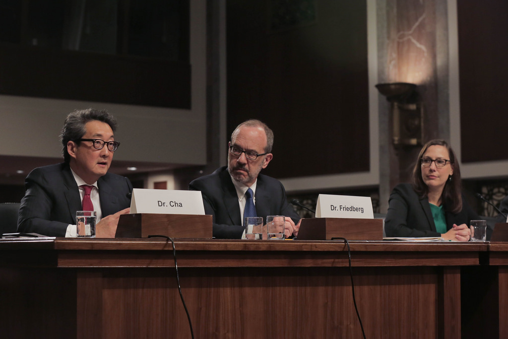 On April 25th, 2017, Dr. Victor Cha testified before the Senate Armed Services Committee on