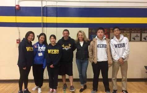 Webb Welcomes WLSA Students