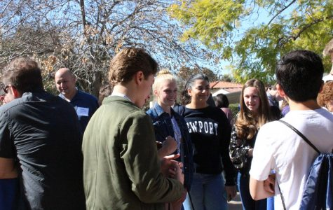 Prospective students preview their future at Webb