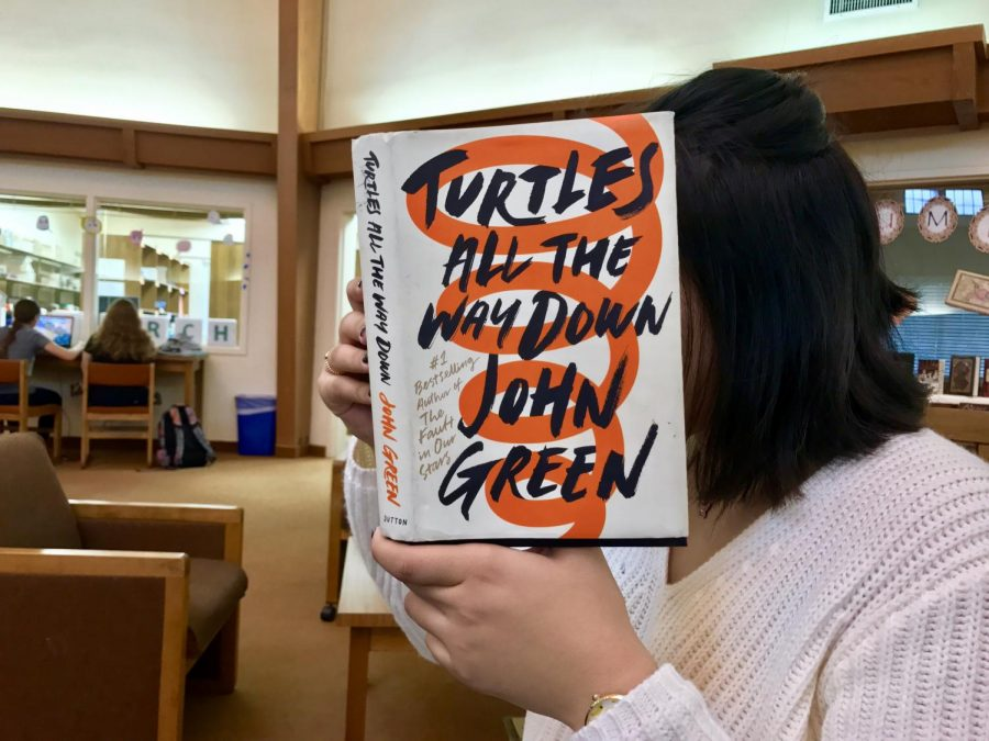 John+Green%E2%80%99s+Turtles+All+the+Way+Down+is+a+must-read+and+fills+the+readers+with+philosophical+questions+and+answers.+