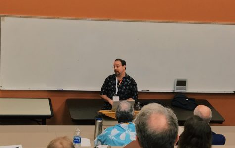 John Scalzi, best-selling writer and Webb alum, shares his work with Webb.