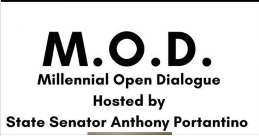 Millennial Open Dialogue engages with the young generation on key issues. Graphic courtesy of Facebook