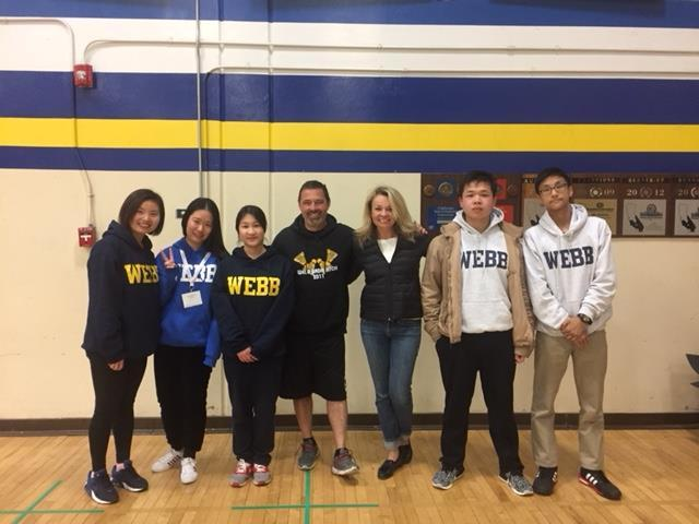 Webb+welcomes+WLSA+students