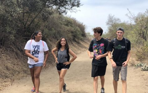 Day two of retreats: Junior class summits Crystal Cove hiking trails