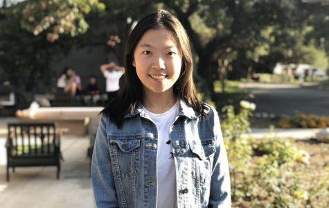 Fiona Jiang ('22), VWS freshman class president