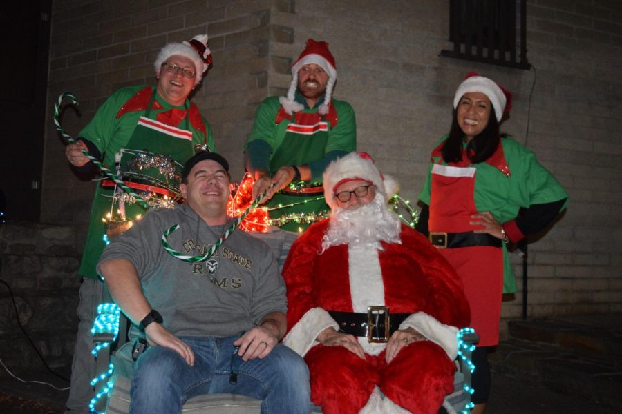 Dorm council hosts annual holiday party