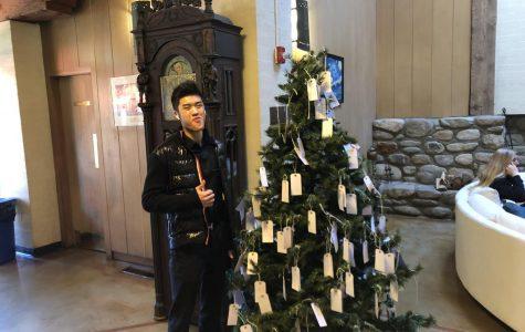 Webb dorm councilors celebrate the season of giving