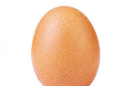 Egg cracks Instagram record