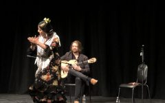 Thrilling flamenco performance enthralls students