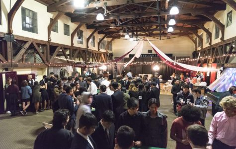 An overall view of the Casino Night with all the participants and decorations.