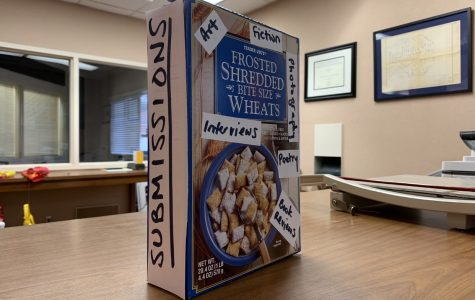 Don't forget to drop off your contest submissions in the cereal box in Fawcett Library!