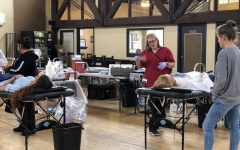 Webb students spread love (and donate blood) before Valentine's Day