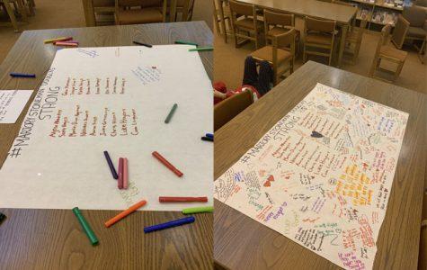 Students commemorate Parkland victims