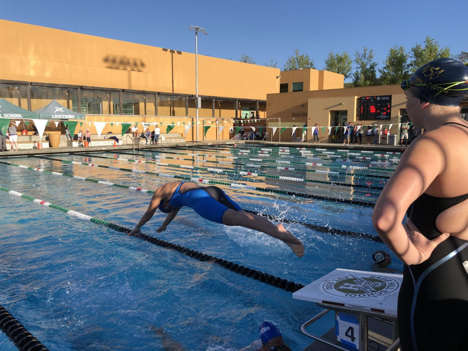 Madeline+Lilley+%28%2722%29+dives+into+her+race.