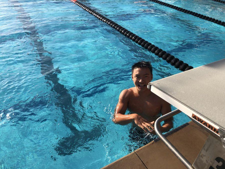 Student in Focus: Kevin Ren, Swimmer