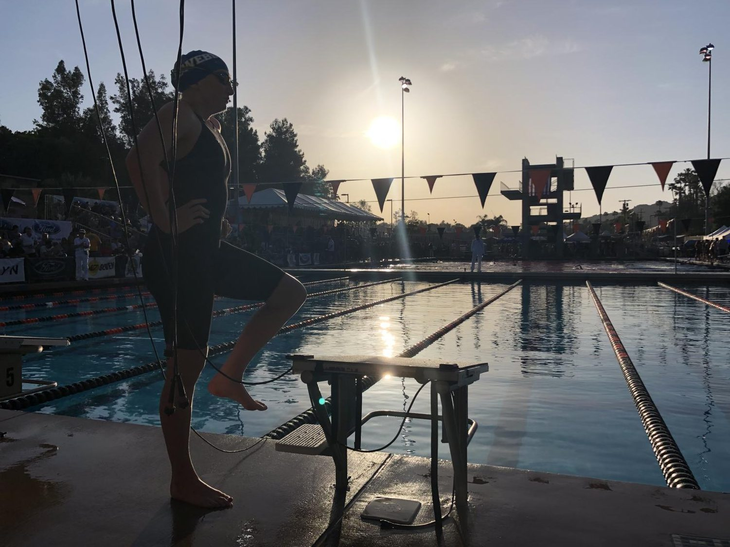 Rylie+Brick+%28%2719%29+swims+her+last+individual+race+of+CIF+SS+2019+and+defends+her++title+as+the+CIF+SS+D3+100+breaststroke+champion.