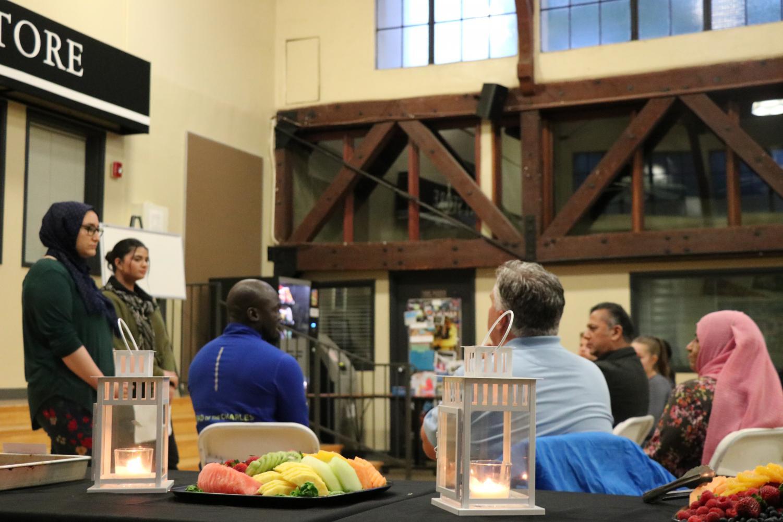 Cheyaan Jamal ('21) leads an open conversation about Ramadan.