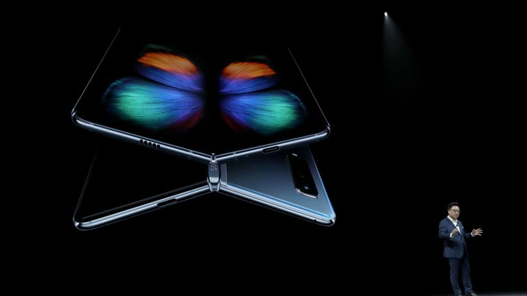 The controversial Galaxy Fold is Samsung's newest product.