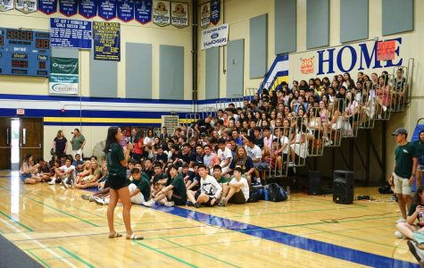 Welcome back assembly kicks off the new year