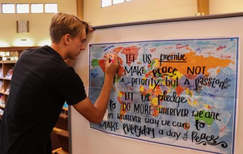 Students rise to global responsibilities for International Day of Peace
