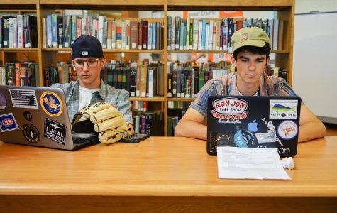Kyle Burt ('20) and Shane Albert ('21)