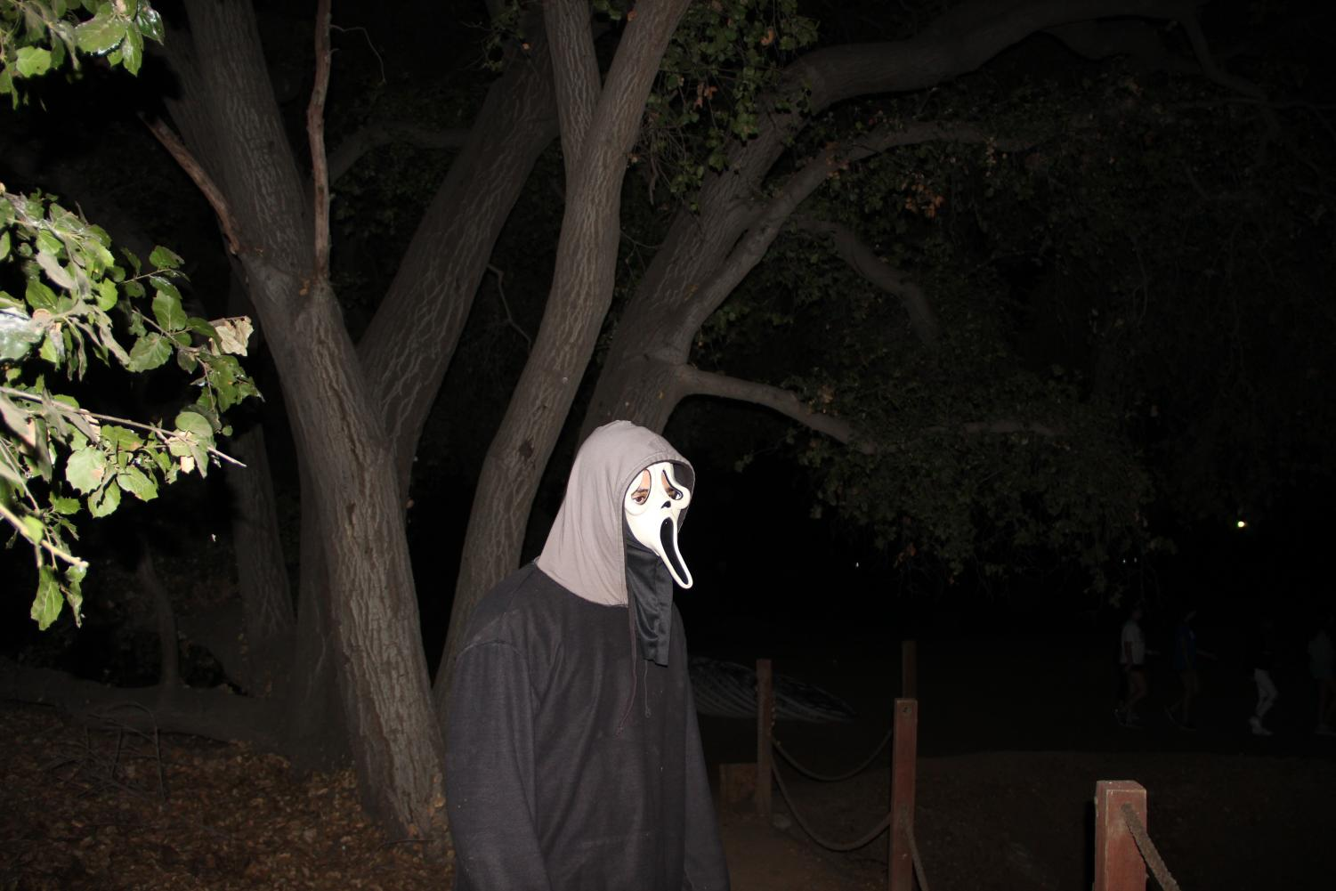 Justin Martin ('20) disguised as a ghoul.