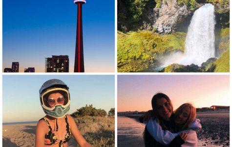 Webb students traverse around North America