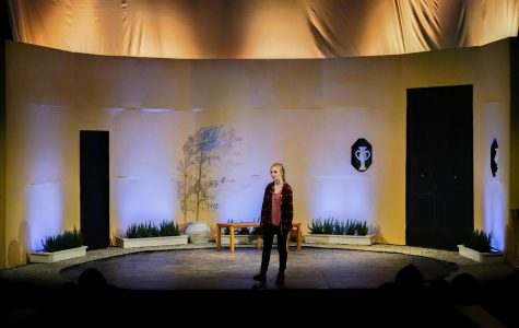 "Theater crew brings Greek tragedy ""Elektra"" to Webb"