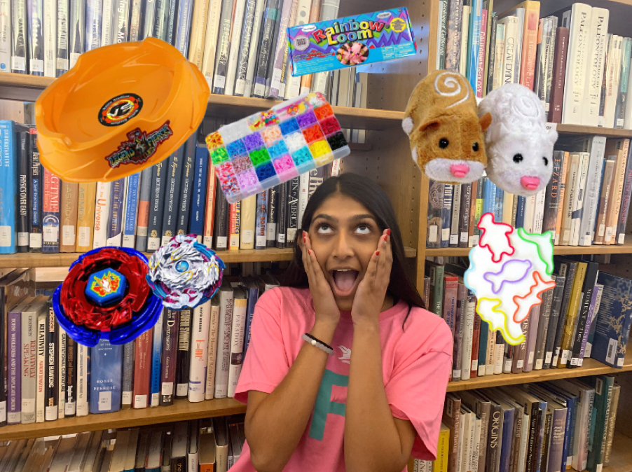 Manek Khedia ('21) thinks about some of her favorite toys from the 2010s.