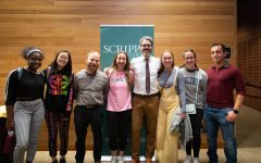 Webb Canyon Chronicle staff meets Michael Barbaro at Scripps College