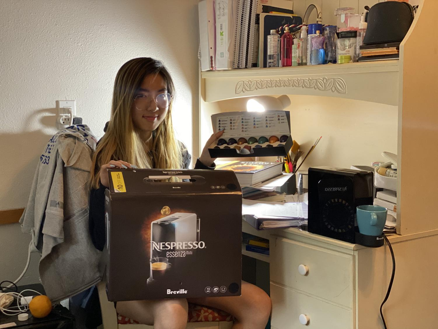 Students embrace a caffeinated culture