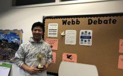 Webb debate team opens the season with a win