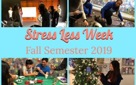 Stress Less featured many engaging activities throughout the week.