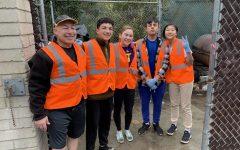 Webbies clean Webb Canyon Road