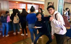 Webb students are energetic about Sushi Day