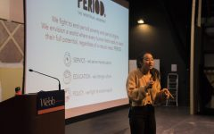 Nadya Okamoto inspires students at Health and Living meeting
