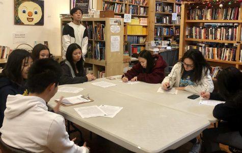 Webbies volunteer at the Claremont Forum