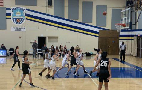 VWS basketball scores against Saddleback Valley Christian.