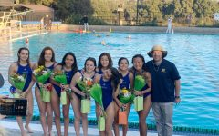 VWS water polo celebrates the seniors in their final home game