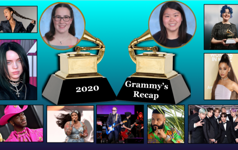Laura Haushalter ('21) and Enya Chi ('20) break down the Grammys. Graphic courtesy of Laura Haushalter
