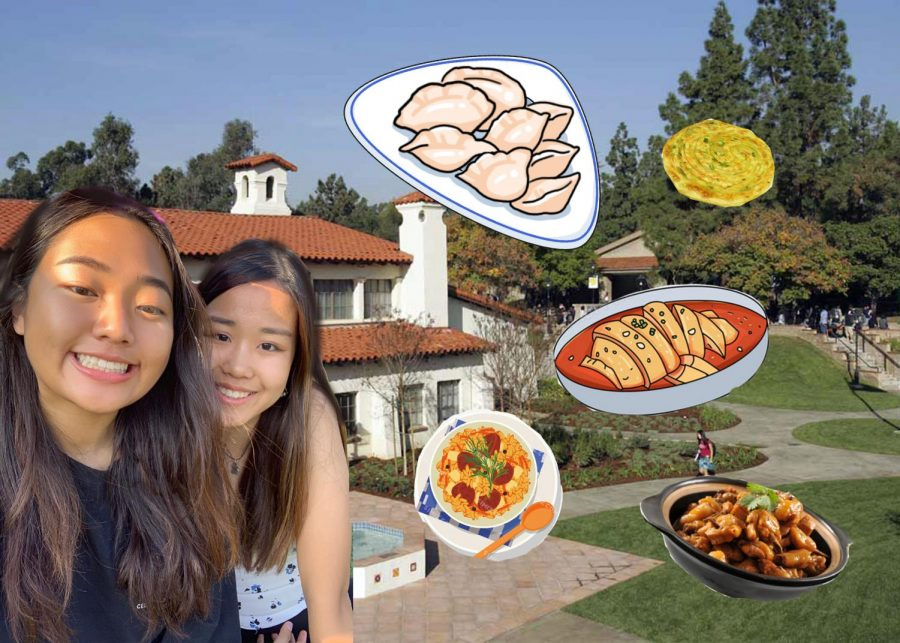 Doris Yuan ('20) and Ashley Fu ('20) come up with a delicious Lunar Year menu. Graphic courtesy of Cathy Wang