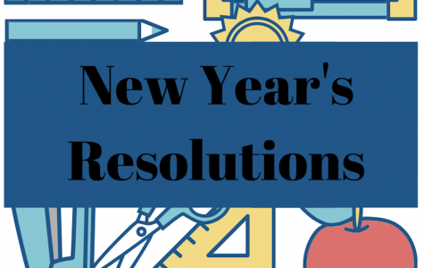 This podcast features some students' New Year's Resolutions for the new decade. Graphic courtesy of Kara Sun