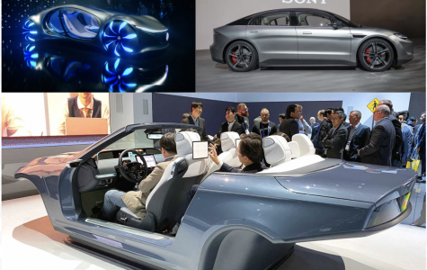 Concept cars are created by companies in order to show new styles or new technology that will one day be implemented into cars.