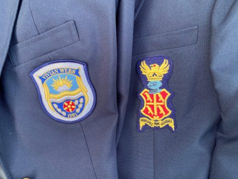 The VWS and WSC uniform lie side-by-side.