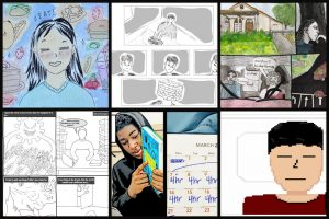 Pandemic diaries: Graphic novels from Fundamentals of Composition students