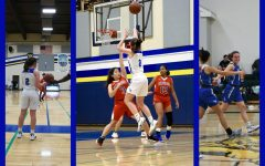 Chloe Stewart ('20) excels on the basketball court. Graphic courtesy: Chloe Stewart ('20)
