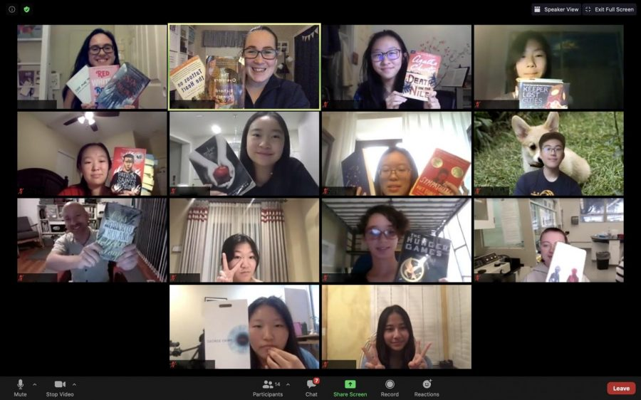 The Bookworm Club brings together a community of readers with its first online meeting