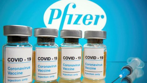 Here is a first look at the COVID-19 Vaccine Pfizer created to combat the pandemic.